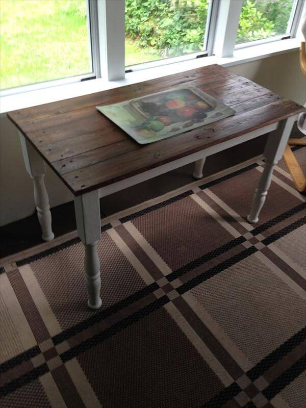 Diy multiple purposes pallet table ideas 99 pallets for Revamp coffee table
