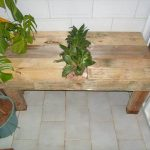DIY Recycled Pallet Table with Planter