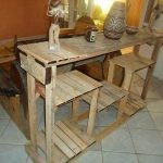 DIY Creative Pallet Console Table – Kitchen Island Table!!