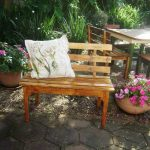DIY Reclaimed Pallet Bench Outdoor Ideas
