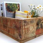 DIY Pallet Crates with Transferred Images
