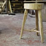 DIY Pallet Round Top Multipurpose Stool