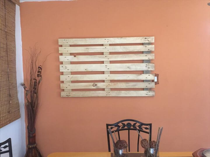 Wood Pallet Wall Art 15 diy pallet signs and wall art ideas | 99 pallets