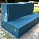 DIY Beefy Pallet Couch / sofa with Storage