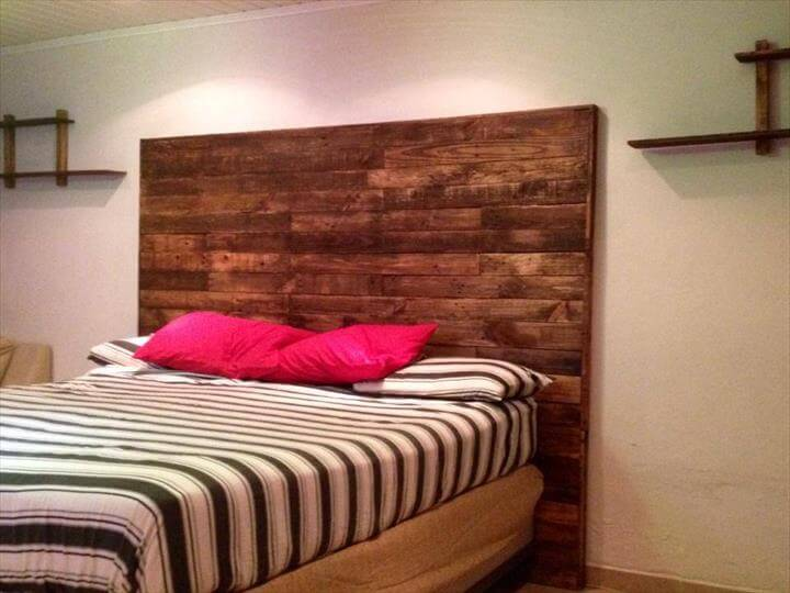 diy platform bed from pallets