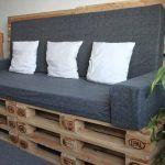DIY Upholstered Pallet Settee – Pallet Sofa