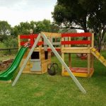 Colorful Pallet Jungle Gym – Kids Playhouse