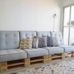 Build Pallet Sofa with Cushion: DIY Tutorial