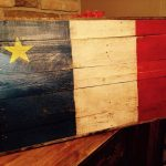 DIY Pallet American Flag Wall Sign