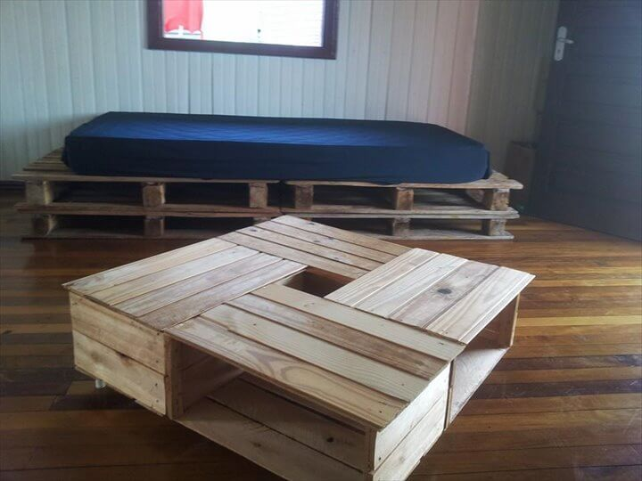12 Diy Creative Wood Pallet Ideas 99 Pallets