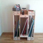 DIY Pallet Shelf – Entryway Storage Organizer!