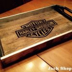 Easy-to-Build Rustic Wood Pallet Tray
