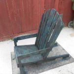 DIY Antique Pallet Adirondack Chair