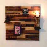 DIY Easy-to-Build Pallet Decorative Wall Shelf