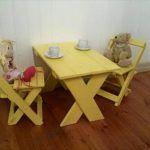 Wood Pallet Furniture for Kids