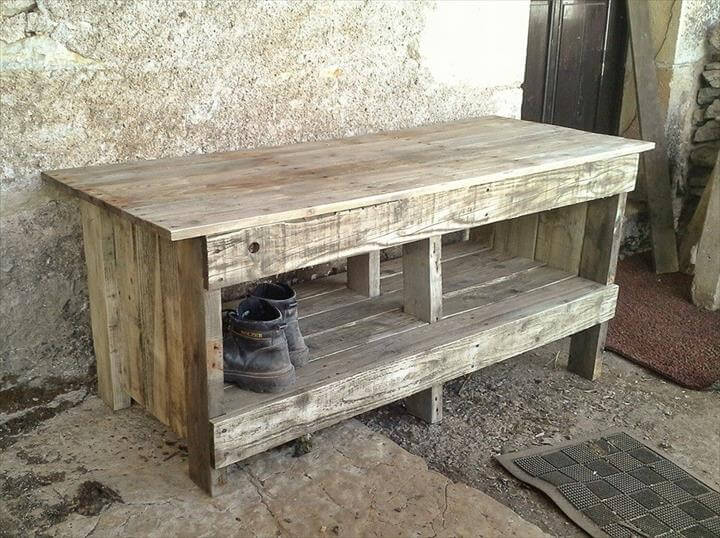 Pallet Shoe Bench Shoes For Yourstyles
