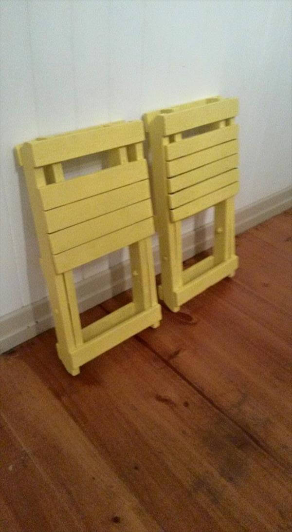 diy pallet folding out chairs