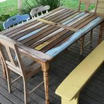Pallet Revamped Dining Furniture Set