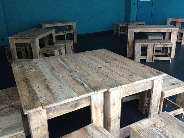DIY Pallet Classroom Furniture Built To Last 99 Pallets