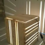 DIY Pallet Light Lamp and Nightstand