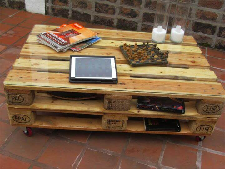diy pallet coffee table! everyone will love | 99 pallets