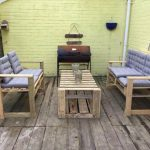 DIY Pallet Table and Benches – Patio Furniture