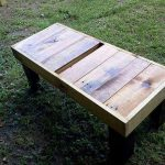 DIY Sturdy Pallet Coffee Table & Bench