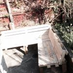 DIY Pallet Sectional Bench or Sitting Plan