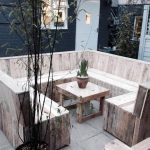 Wood Pallet Coffee Shop Sitting Furniture