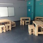 DIY Pallet Classroom Furniture Built to Last