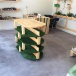 Pallet and Cable Spool Eco-Friendly Furniture
