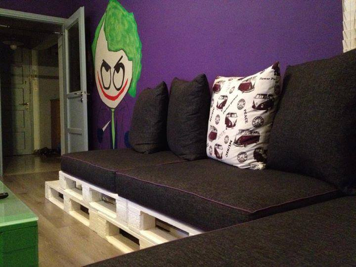 easy-to-install whole pallet sofa