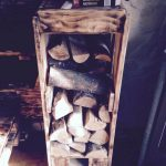 DIY Pallet Firewood Rack / Holder