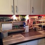 Pallet Kitchen Spice Rack and Towel Holder