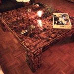 DIY Antique Wood Pallet Coffee Table