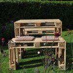 Euro Pallet Garden Set