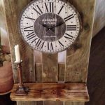 Inspired Antique Wood Pallet Clock