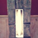 DIY Pallet Floor Lamp