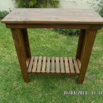 Pallet Couch Table or Accent Hall Table