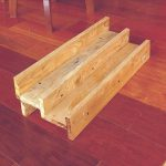 DIY Double Pallet Shelf