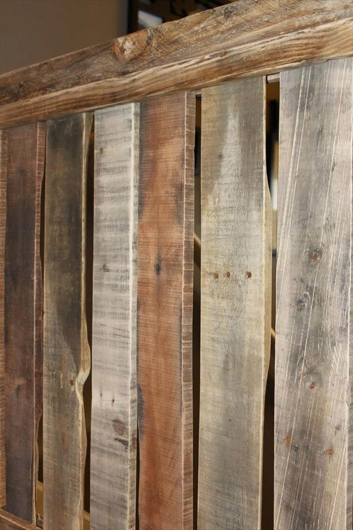 Diy Pallet Baby Gate For Your Stairway