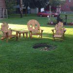 Pallet Adirondack Garden Chairs