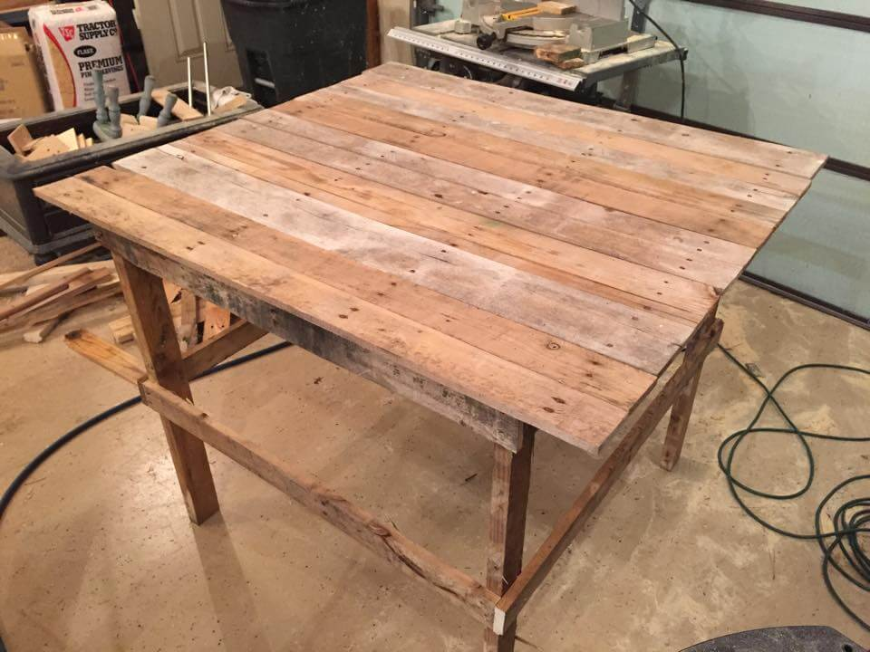 Multi Purpose Table wood pallet multi-purpose table | 99 pallets