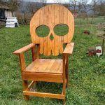 DIY Pallet Wood Reclaimed Chair