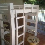 DIY Pallet Bed with Stair for Kid's