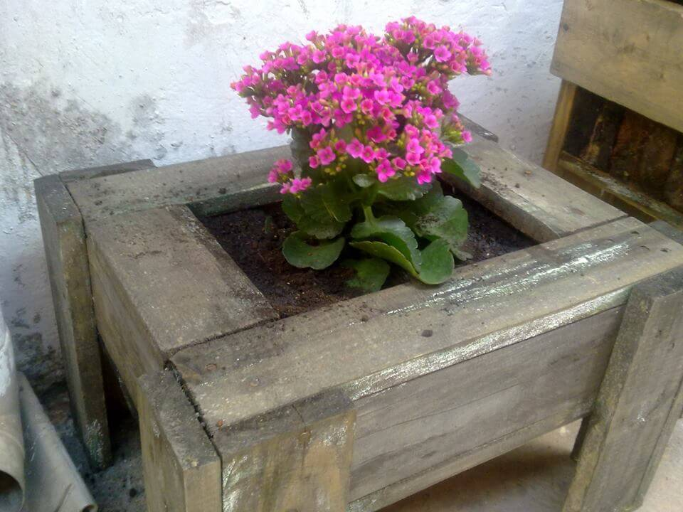 diy planter made of pallets