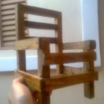 Wooden Pallet Small Chair for Kids