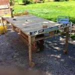 Pallet XL Outdoor Table