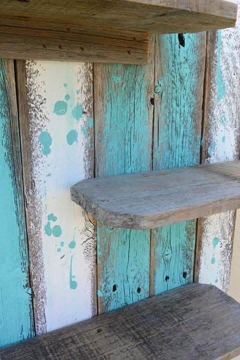 Diy Pallet Decorative Wall Shelf 99 Pallets