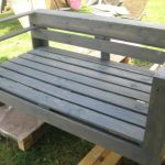 DIY Pallet Wood Garden Bench